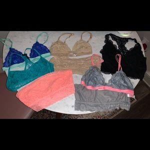 Victoria's Secret PINK Bandeau / Bralette LOT | S